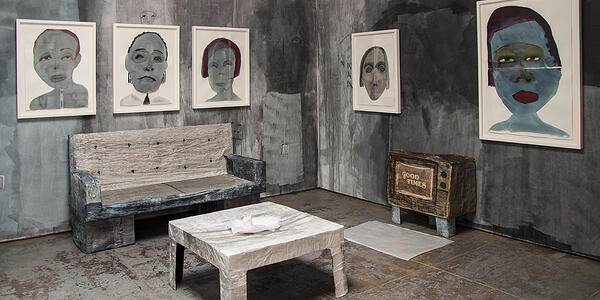 February James, A Place to Belong (installation view). Image courtesy of Wilding Cran.